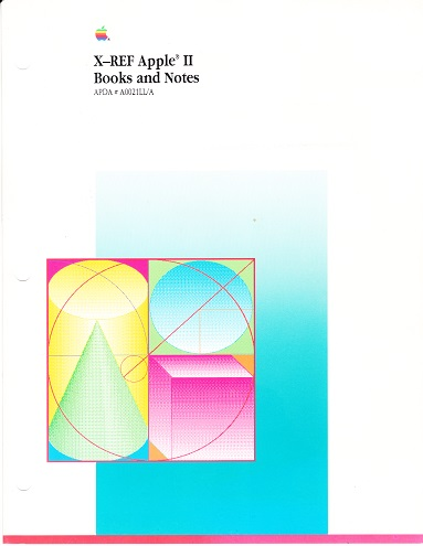Download X-REF to Apple II Programming Books